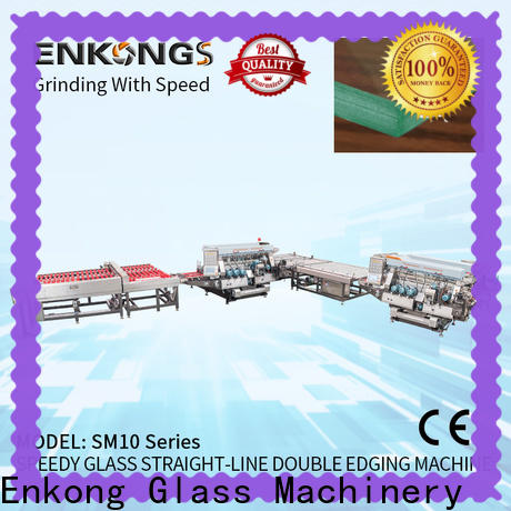 Enkong modularise design glass edging machine suppliers company for photovoltaic panel processing
