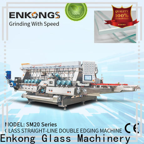 Enkong SM 20 glass double edger manufacturers for round edge processing