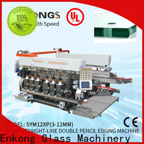 Enkong SM 20 double edger supply for photovoltaic panel processing