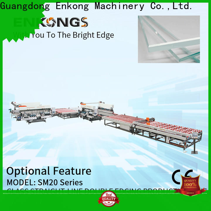 Enkong New automatic glass cutting machine factory for round edge processing