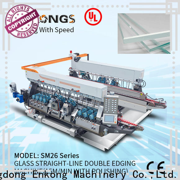 Enkong Wholesale double glass machine company for round edge processing