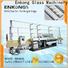 Enkong xm351 glass straight line beveling machine factory for polishing
