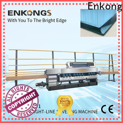 Enkong xm351a glass beveling machine factory for glass processing