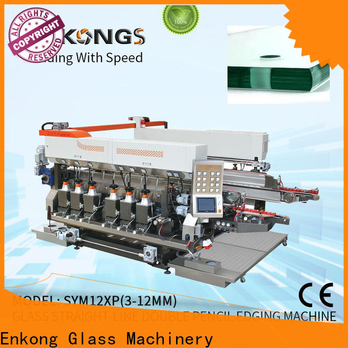 Enkong SM 26 small glass edge polishing machine company for household appliances