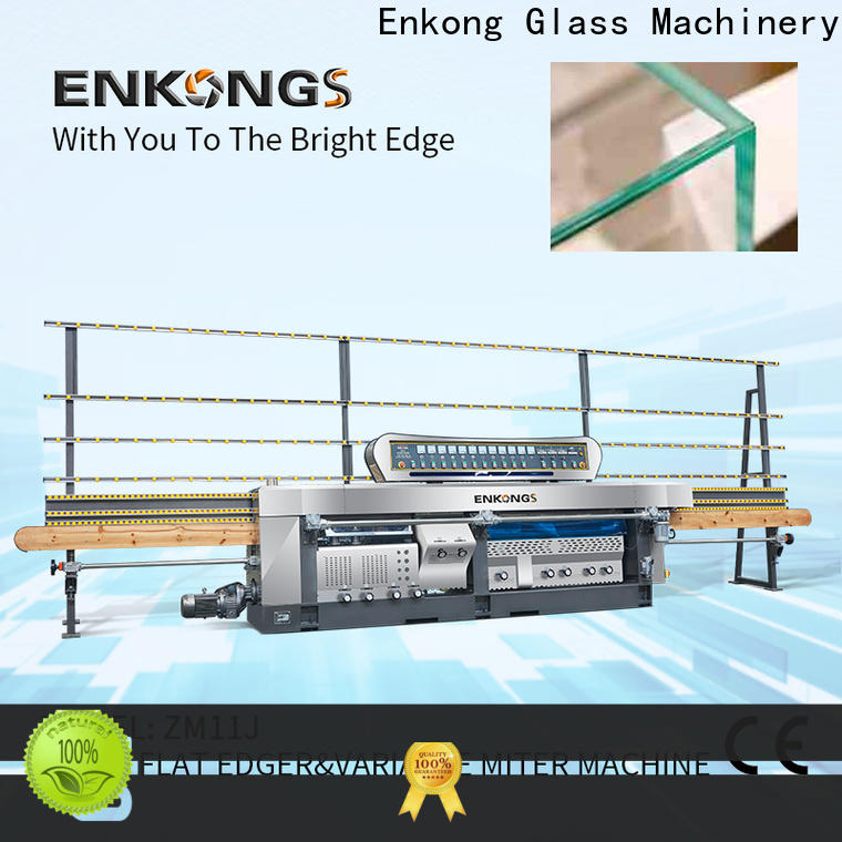 Latest glass manufacturing machine price variable factory for round edge processing