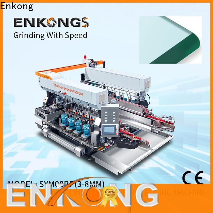 Latest glass double edging machine modularise design company for household appliances