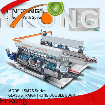 Top glass double edging machine SM 12/08 suppliers for household appliances