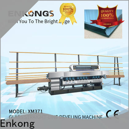 Enkong xm363a beveling machine for glass company for polishing