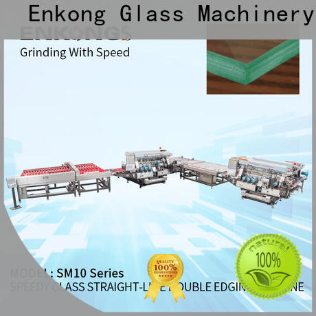Latest small glass edge polishing machine SM 10 manufacturers for photovoltaic panel processing