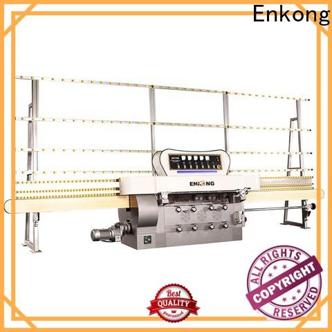 Enkong zm11 glass edger for sale factory for photovoltaic panel processing