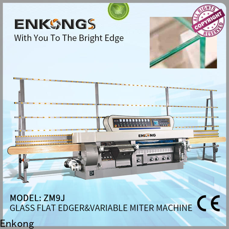 High-quality glass machine factory 5 adjustable spindles for business for round edge processing