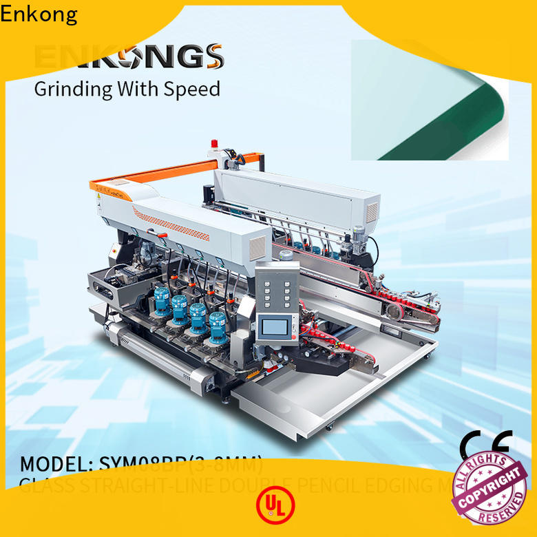 Enkong SM 20 double glass machine manufacturers for round edge processing