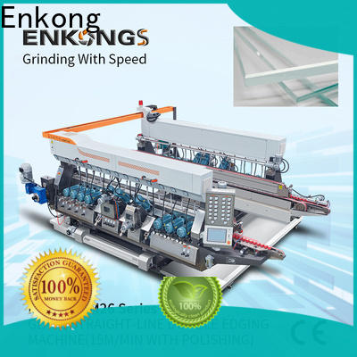 Best glass double edger machine SM 20 suppliers for round edge processing
