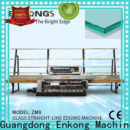 Enkong zm11 glass edge polishing machine for sale company for photovoltaic panel processing
