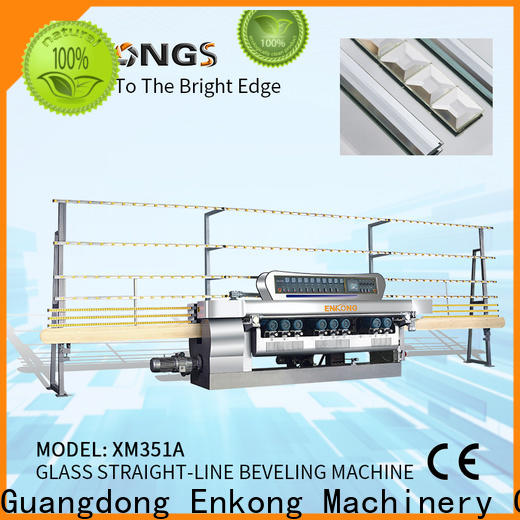 Enkong xm351a glass beveling machine price for business for glass processing
