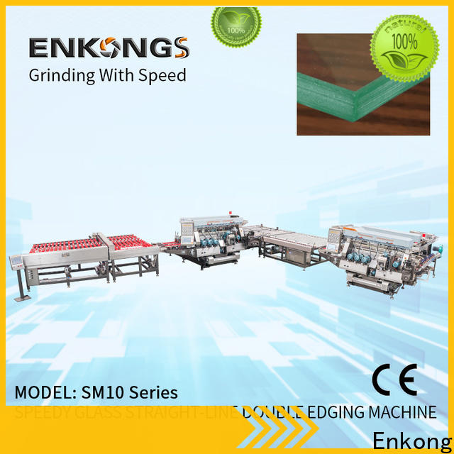 Enkong SYM08 double glass machine company for round edge processing