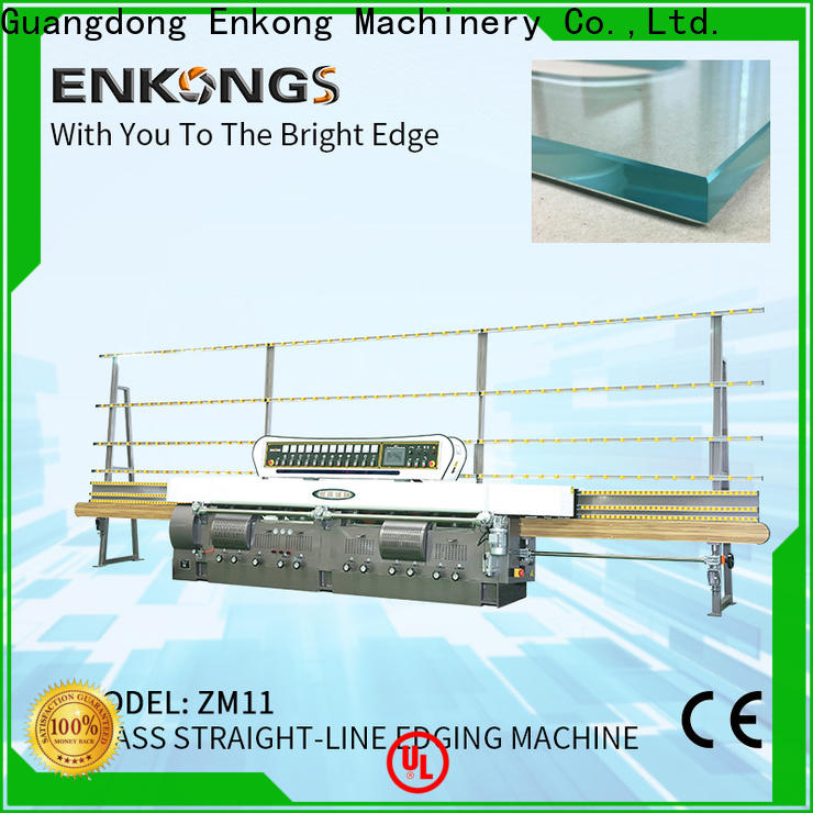 Enkong zm11 small glass edging machine for business for photovoltaic panel processing