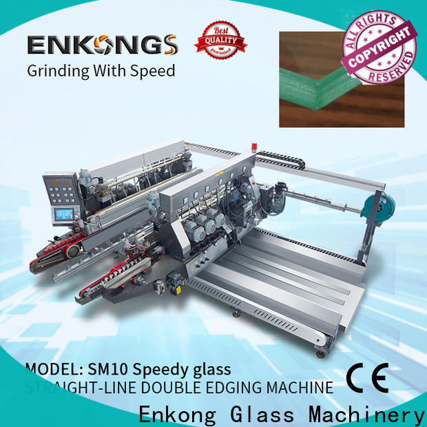 Enkong Custom glass double edging machine factory for photovoltaic panel processing