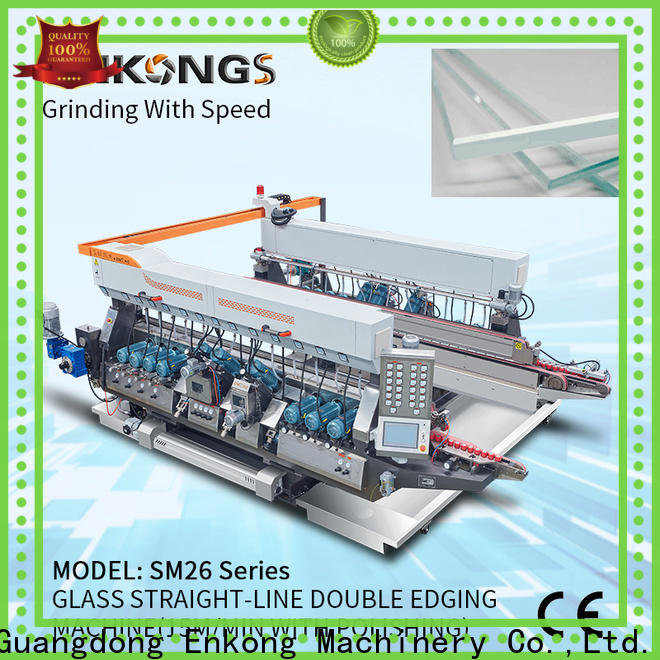 Wholesale double edger machine SM 12/08 factory for photovoltaic panel processing