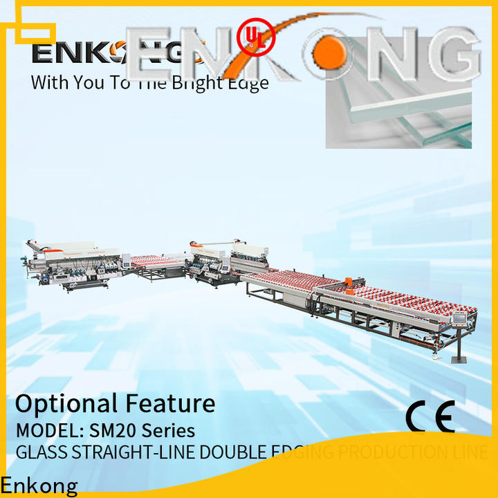 High-quality automatic glass cutting machine modularise design for business for round edge processing