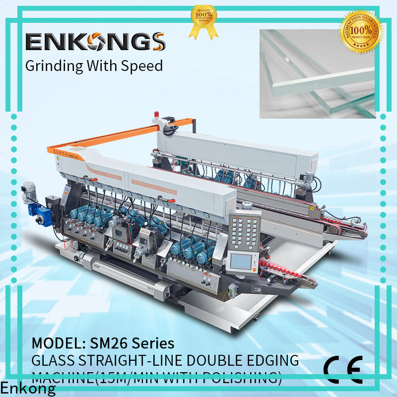 Enkong SYM08 double edger suppliers for round edge processing