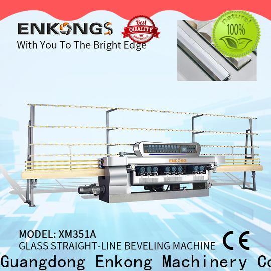Enkong Latest small glass beveling machine company for polishing
