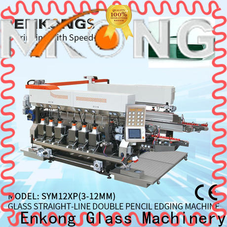 Custom glass double edging machine SM 20 company for photovoltaic panel processing