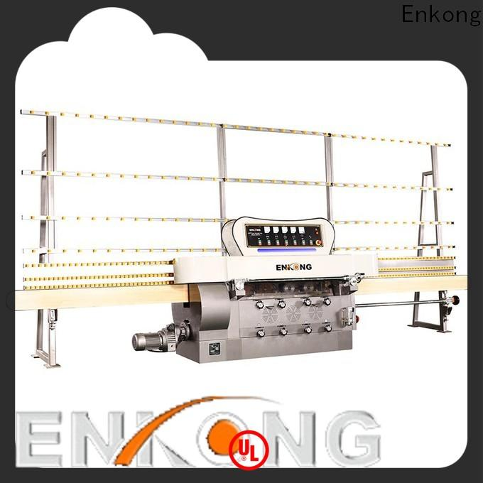 Enkong zm9 glass edging machine manufacturers factory for round edge processing