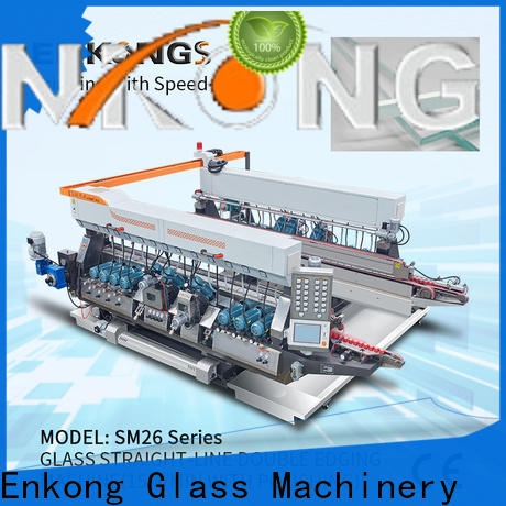Enkong SM 12/08 glass double edger for business for household appliances