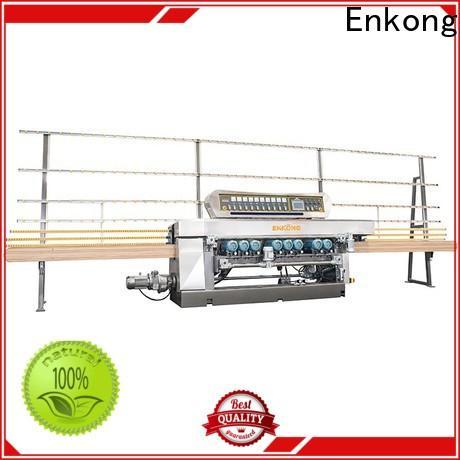 Enkong xm363a glass beveling machine manufacturers company for polishing
