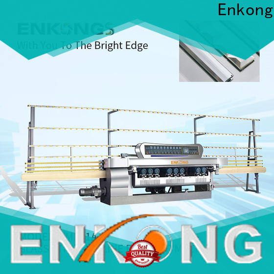 Enkong xm351 glass beveling machine price for business for polishing