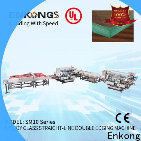 Latest glass double edging machine SYM08 for business for household appliances