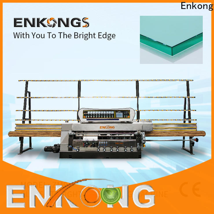 Enkong Best glass edge polishing machine company for round edge processing