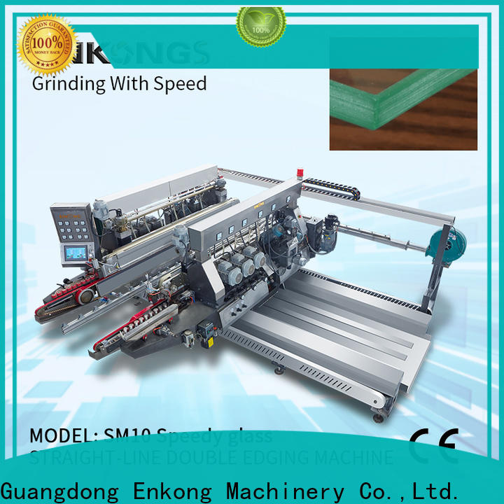 High-quality small glass edge polishing machine SYM08 for business for household appliances