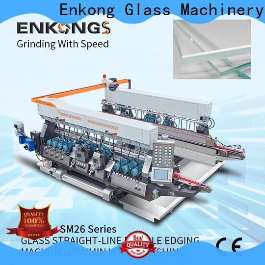 Enkong Custom automatic glass edge polishing machine company for photovoltaic panel processing