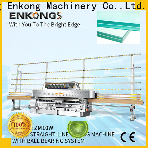 Enkong zm10w steel glass making machine price company for polish