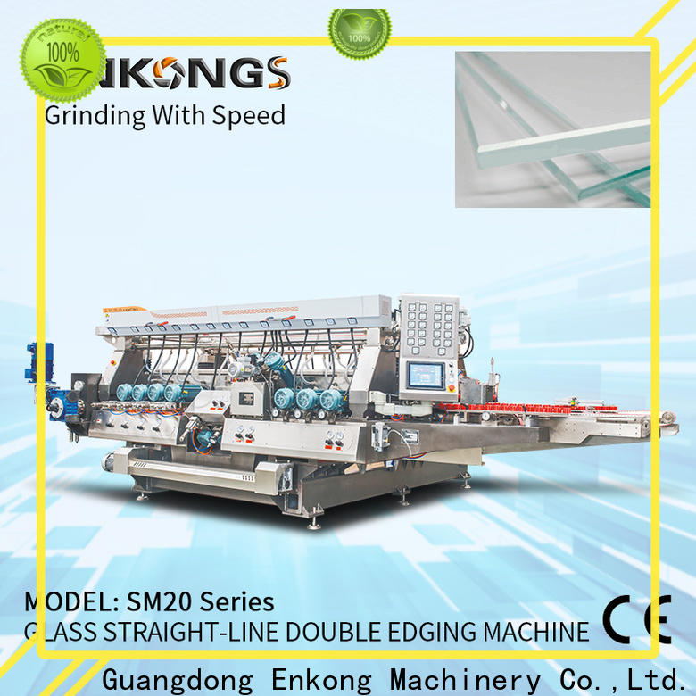 Latest automatic glass edge polishing machine SM 10 for business for round edge processing