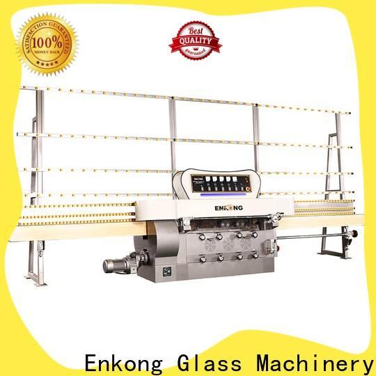 Custom glass straight line edging machine price zm7y supply for round edge processing