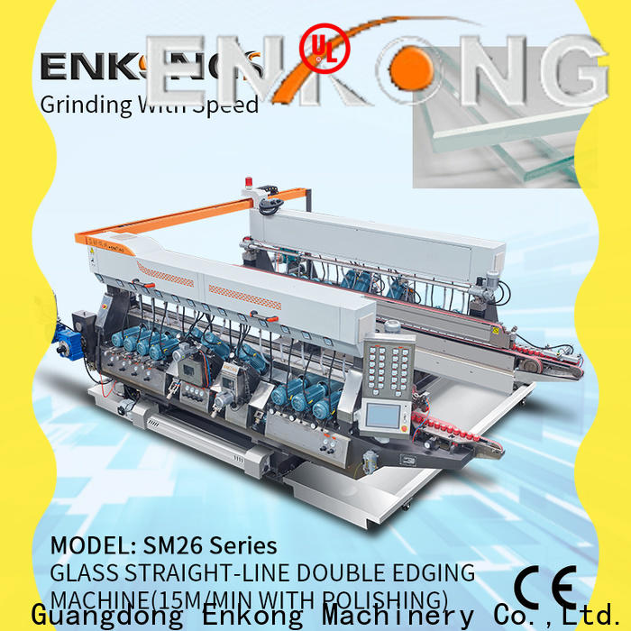 Best glass double edger machine SM 10 manufacturers for photovoltaic panel processing