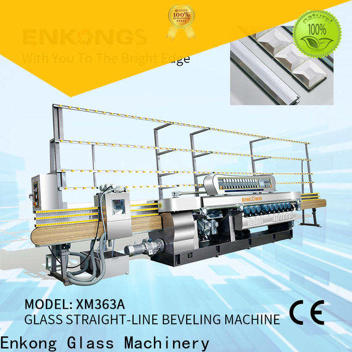 Enkong Best glass beveling machine for sale company for polishing