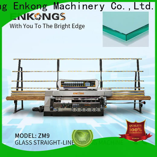 Enkong zm11 portable glass edge polishing machine suppliers for photovoltaic panel processing
