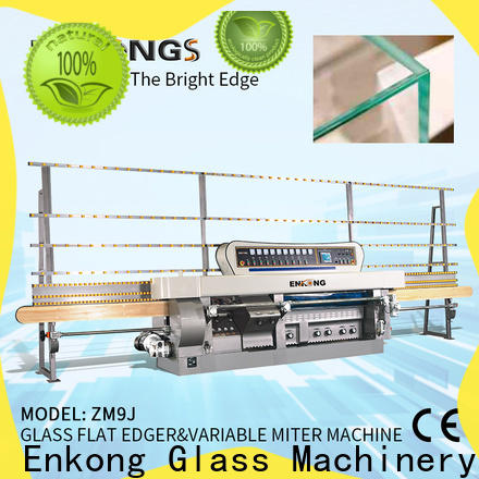 Enkong New glass mitering machine suppliers for grind