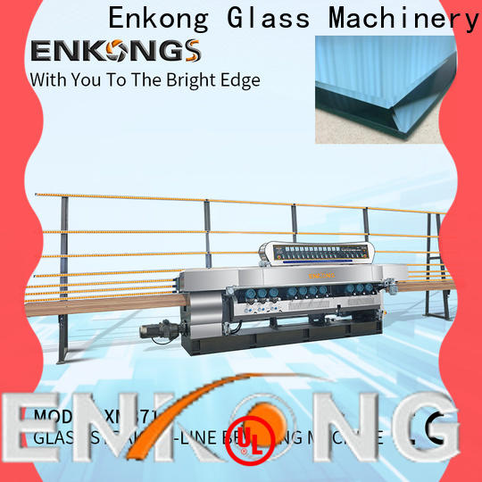 Enkong Top beveling machine for glass suppliers for glass processing