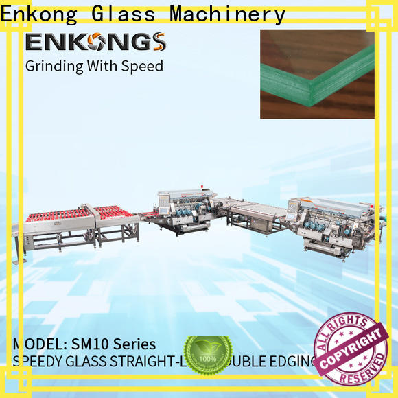 Enkong Best glass double edger suppliers for photovoltaic panel processing