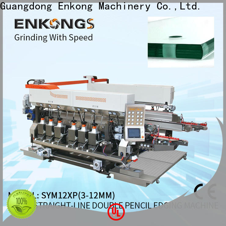 Enkong Wholesale glass double edger supply for photovoltaic panel processing