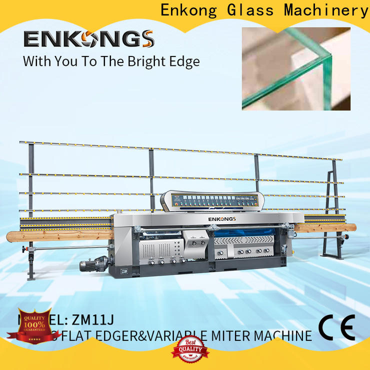 Enkong variable glass machine factory company for polish