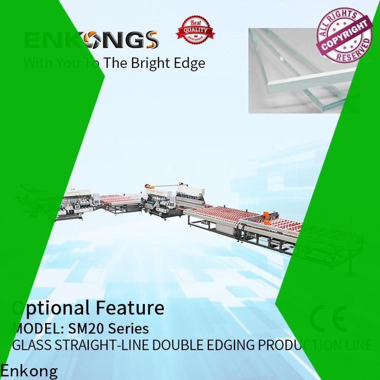 Enkong High-quality small glass edge polishing machine company for round edge processing