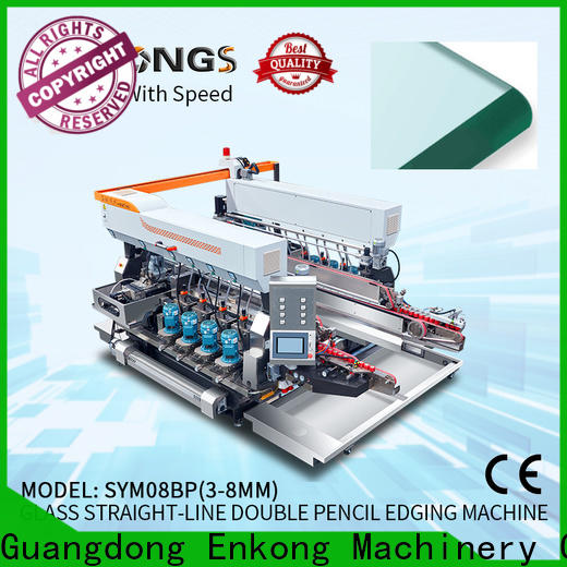 Enkong SM 22 automatic glass edge polishing machine manufacturers for photovoltaic panel processing