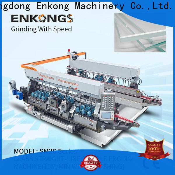 Enkong SM 10 glass edging machine suppliers supply for household appliances