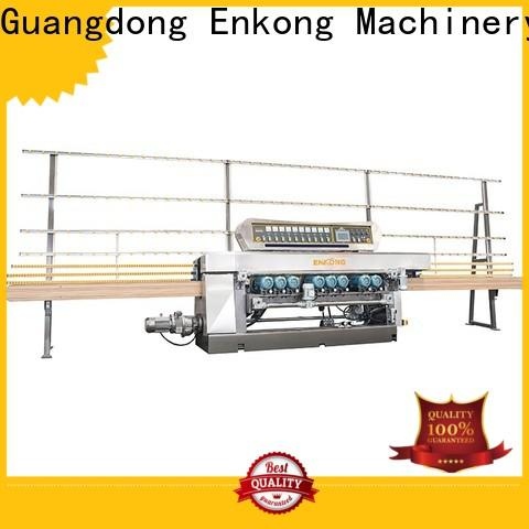 Enkong Best glass bevelling machine suppliers suppliers for polishing